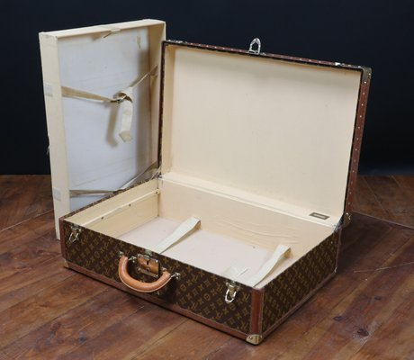 Vintage Leather Suitcase from Louis Vuitton, 1950s for sale at Pamono 499ea5d242c