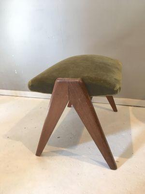 Incredible Vintage Scandinavian Foot Stool Forskolin Free Trial Chair Design Images Forskolin Free Trialorg