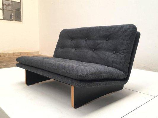 Phenomenal F671 Loveseat Sofa By Kho Liang Ie For Artifort 1960S Uwap Interior Chair Design Uwaporg
