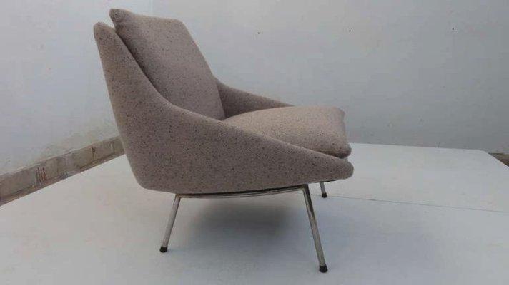 Sensational Model 800 Lounge Chair By J A Motte For Steiner 1956 Gmtry Best Dining Table And Chair Ideas Images Gmtryco