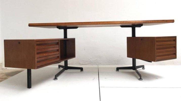 Vintage Model T95 Direzionale Schreibtisch Mit Drehbaren Schubladen