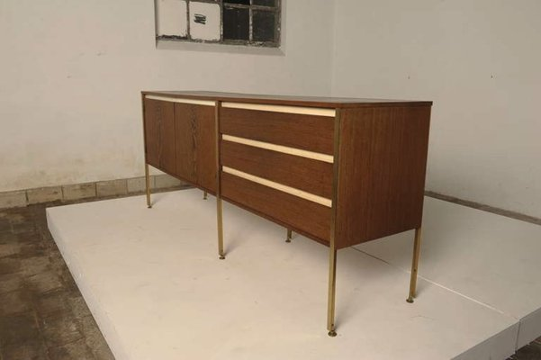 Credenza Moderna Wengè : Credenza in wengé di kho liang le wim crouwel per fristho