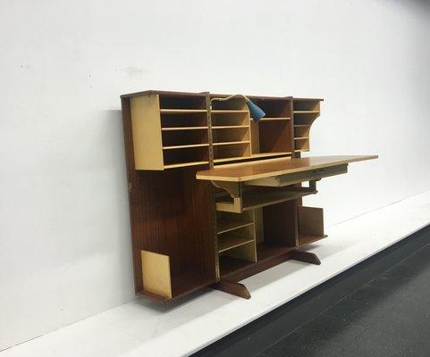 Mobile con scrivania a ribalta mid century di mummenthaler meier
