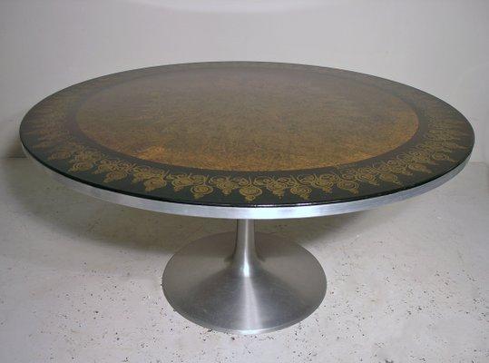 Etonnant Table De Salle à Manger Peinte à La Main Par Poul Cadovius U0026 Susanne  Fjeldsoe Mygge