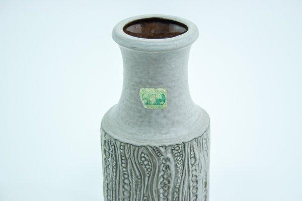 Mid Century Modern Reptile Vase By Dieter Peter For Carstens