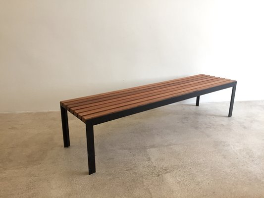 Awesome Modernist T Slat Bench 1965 Creativecarmelina Interior Chair Design Creativecarmelinacom