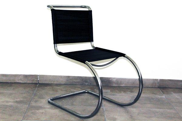 Chaise En Acier Tubulaire Par Ludwig Mies Van Der Rohe, 1930s 1