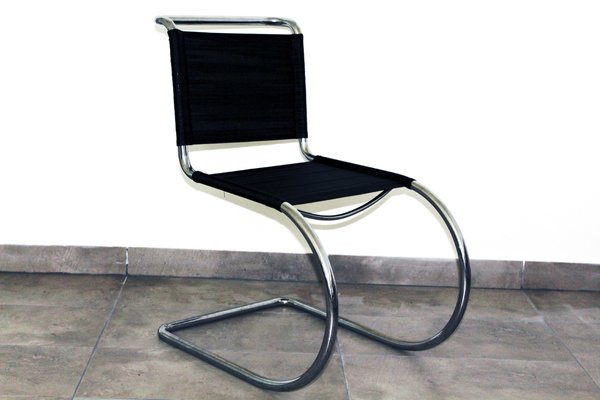 Tubular Steel Chair By Ludwig Mies Van Der Rohe, 1930s 1