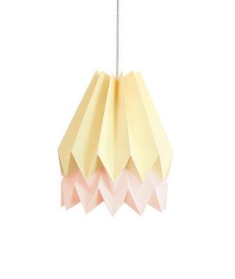 Origami Lampenschirm In Rosa Gelb Von Orikomi Bei Pamono Kaufen
