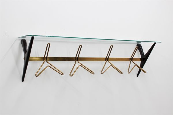 Vintage Large Wall Coat Rack By Ico Parisi For Sale At Pamono Classy Wall Coat Rack