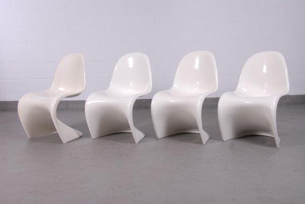 Sedia Panton Chair Vitra: Vitra sedia panton chair bianco ...