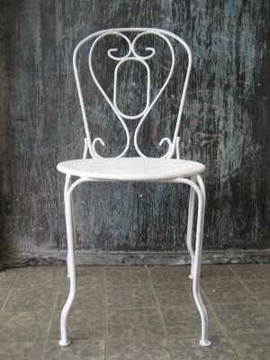 vintage french metal garden chair for sale at pamono