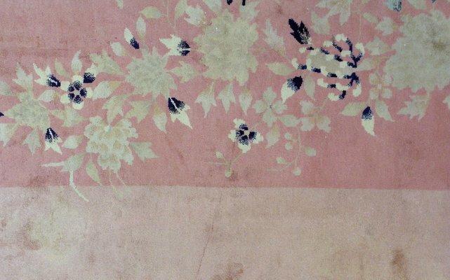 Tapis Art Déco Fait Main Chine 1920s En Vente Sur Pamono