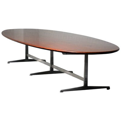 Vintage Dining Table In Wenge By Arne Jacobsen For Fritz Hansen For