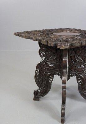 Admirable Antique Indian Side Table Inzonedesignstudio Interior Chair Design Inzonedesignstudiocom