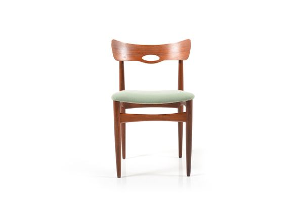 Danish Chairs In Teak From Bramin 1960s Set Of 2 For Sale At Pamono