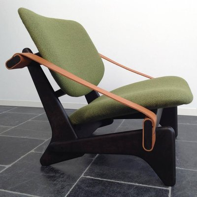 Jumbo 174 Green Low Chair By Olof Ottelin 1950s For Sale At Pamono