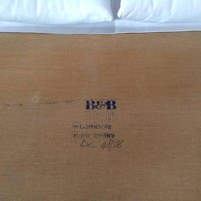 Cuir amp;b B Par Pour Bambole Italia1970s Mario Mid Le Bellini En Century Méridienne ZPuOiXk