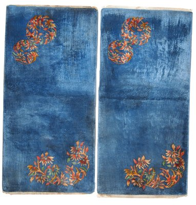Handmade Chinese Art Deco Rugs 1920s Set Of 2 For Sale At Pamono