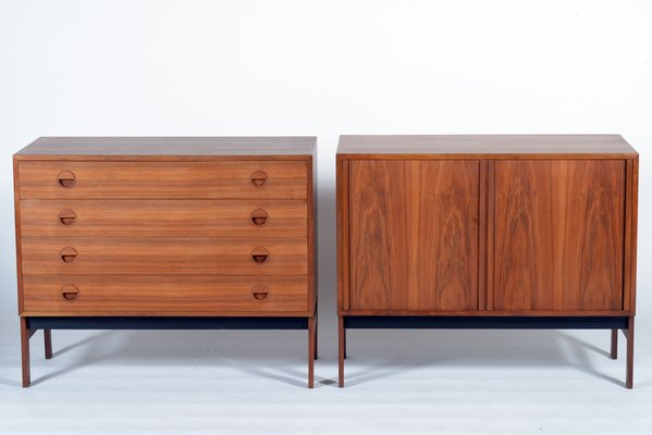 Danish Teak Credenza For Sale : Danish mid century teak wood chest and credenza 1955 for sale at pamono