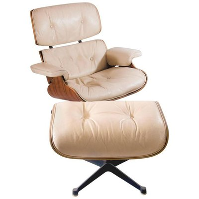 Lounge Chair With Ottoman By Charles U0026 Ray Eames For Mobilier  International, ...