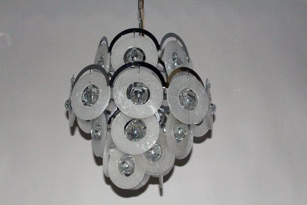 Lampadari In Cristallo Di Murano.Lampadario Vintage In Vetro Di Murano Di Vistosi Anni 60