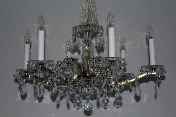 Kronleuchter Kristall Schwarz ~ Kronleuchter mit kristall behang 1950er bei pamono kaufen