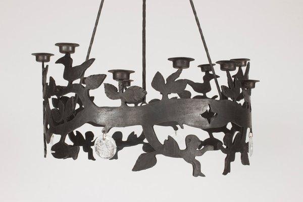 Kronleuchter Eisen ~ Eisen glas kronleuchter von bertil vallien für boda smide