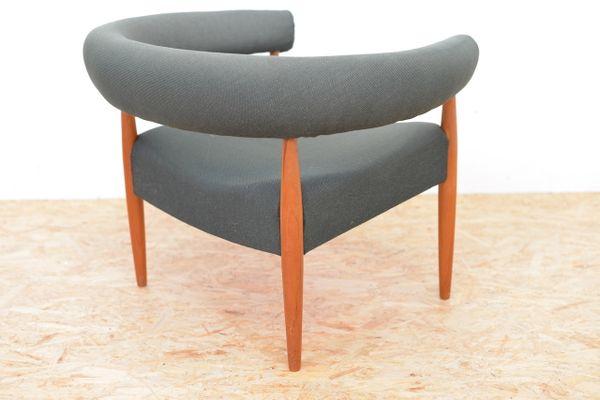 Charmant Vintage Pølsestolen Ring Chair By Nanna Ditzel For Poul Kolds Savværk 7