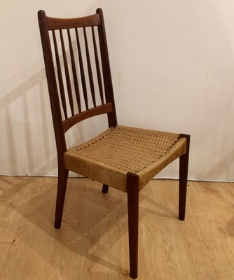 Cool Mid Century Teak And Cane Chairs 1960S Set Of 4 Andrewgaddart Wooden Chair Designs For Living Room Andrewgaddartcom