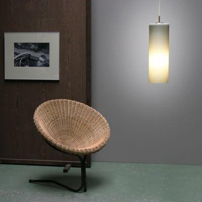 Large Glass Pendant Lamp By Gino Vistosi 2