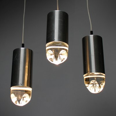 Vintage pendant lights with solid glass from raak set of 6 for sale vintage pendant lights with solid glass from raak set of 6 2 aloadofball Choice Image