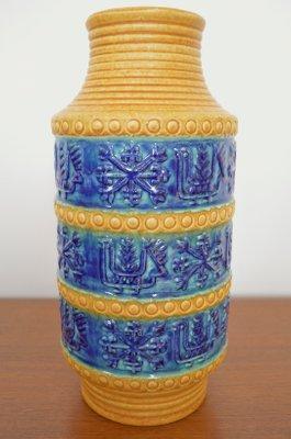 bay keramik Ceramic Floor Vase from Bay Keramik, 1960s for sale at Pamono bay keramik