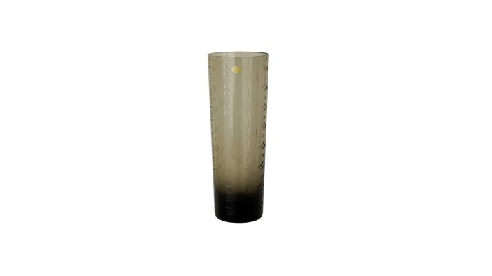 Vintage Smoked Glass Vase From Rosenthal For Sale At Pamono