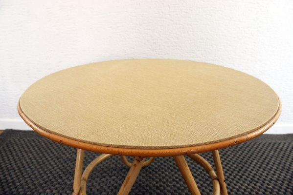 round rattan coffee table. Vintage Round Rattan Coffee Table 3