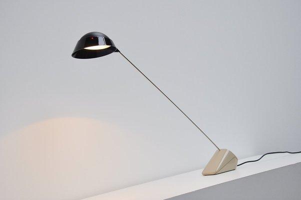 Lampada da scrivania ipotenusa vintage di achille castiglioni