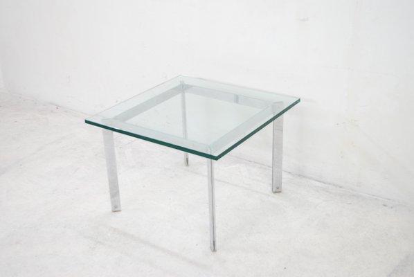 Ordinaire Vintage Glass U0026 Chrome Coffee Table 11