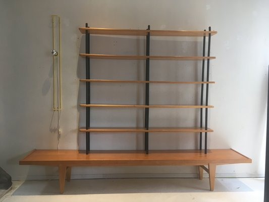 new concept a9c4b 76f90 Vintage Shelving Unit by Willem Lutjens for Gouda den Boer