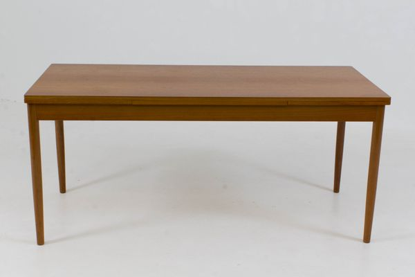 Large Danish Extending Dining Table, 1960s 1