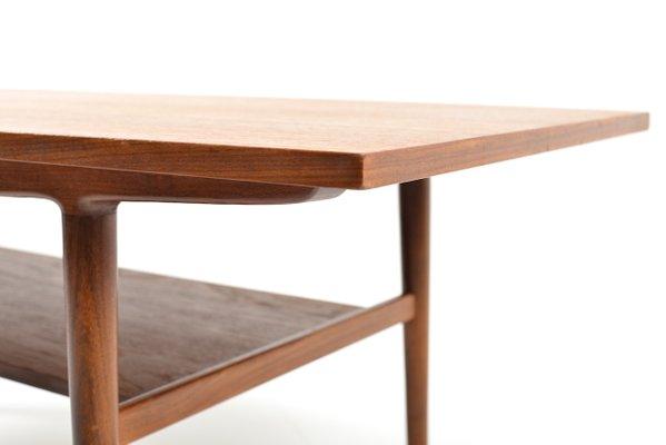Danish Teak Sofa Table 1960s