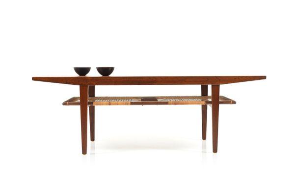 Danish Rosewood Sofa Table 1960s 1