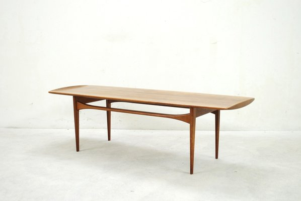 Danish FD503 Teak Coffee Table by Tove & Edvard Kindt Larsen for France & Son