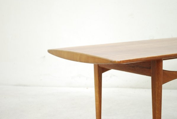 Danish Fd503 Teak Coffee Table By Tove Edvard Kindt Larsen For France Son For Sale At Pamono