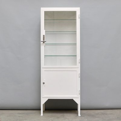 Steel U0026 Glass Medicine Cabinet, 1940s 1
