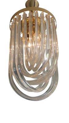 Mid-Century Modern Murano Glass Ceiling Light for sale at Pamono