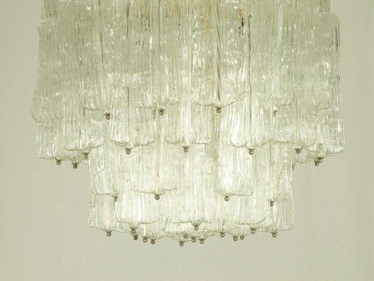 Plafoniere Moderne In Vetro Di Murano : Lampadario in vetro di murano toni zuccheri per venini anni 60