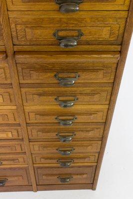French Art Deco Haberdashery Cabinet, 1920s 9