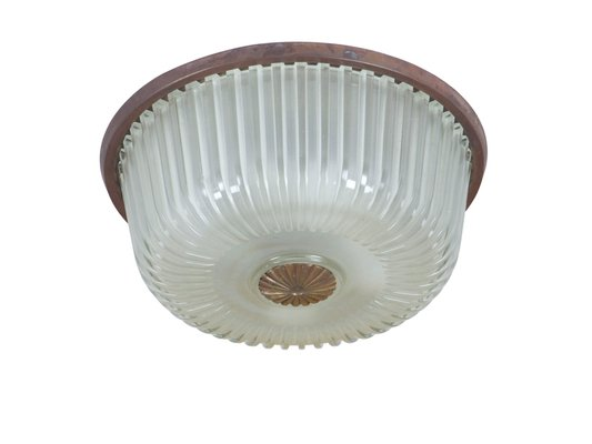 Vintage Italian Ceiling Lamp With
