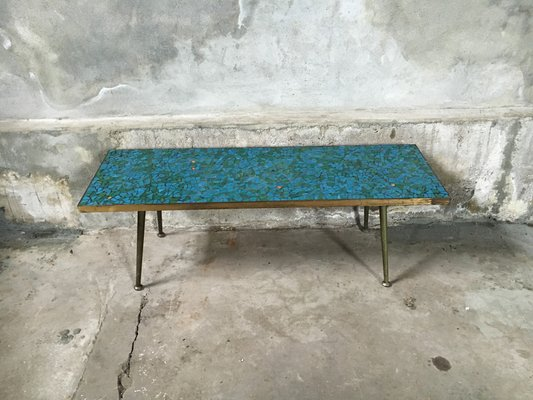 Genial Mosaic Coffee Table, 1950s