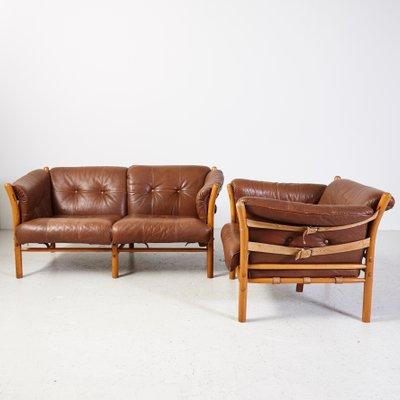 Vintage Ilona Armchair And Sofa By Arne, Arne Norell Ilona Chair